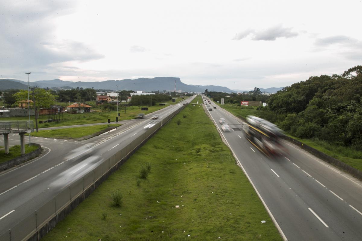 BR-101 foi uma das rodovias no Estado que mais registrou ocorrências - Marco Santiago/ND