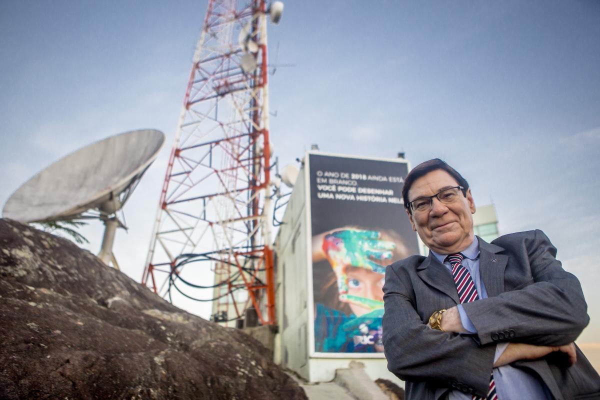 Luiz Carlos Prates é o novo contratado do Grupo RIC - Flávio Tin/ND