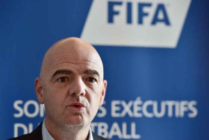 Presidente da Fifa, Gianni Infantino quer mudar formato de torneios – Foto: Christophe Archambault / AFP