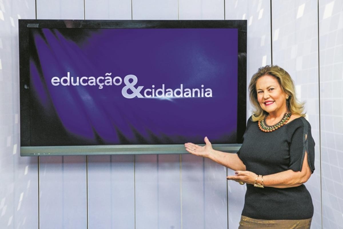 Maria Odete Olsen comanda o programa que contabiliza mais de 5.000 entrevistas e reportagens - Marco Santiago/ND