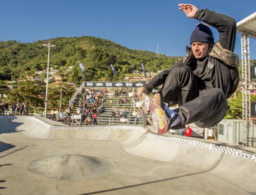 Skatista Pedro Barros - Bruno Ropelato/ND