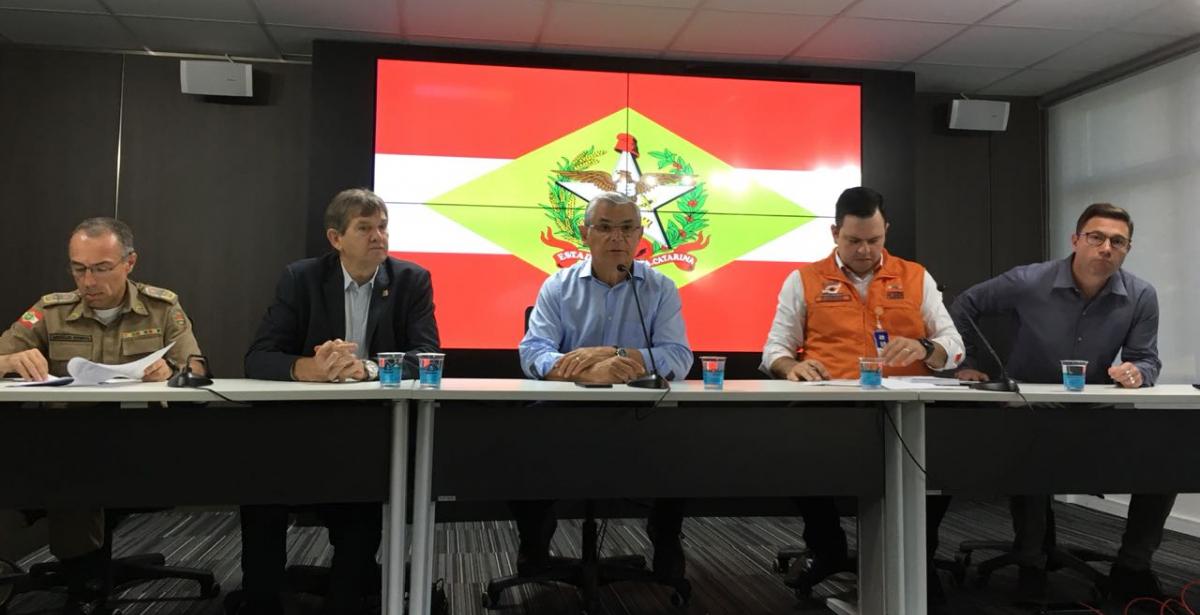 Coletiva de imprensa após a greve dos caminhoneiros - Felipe Alves/ND