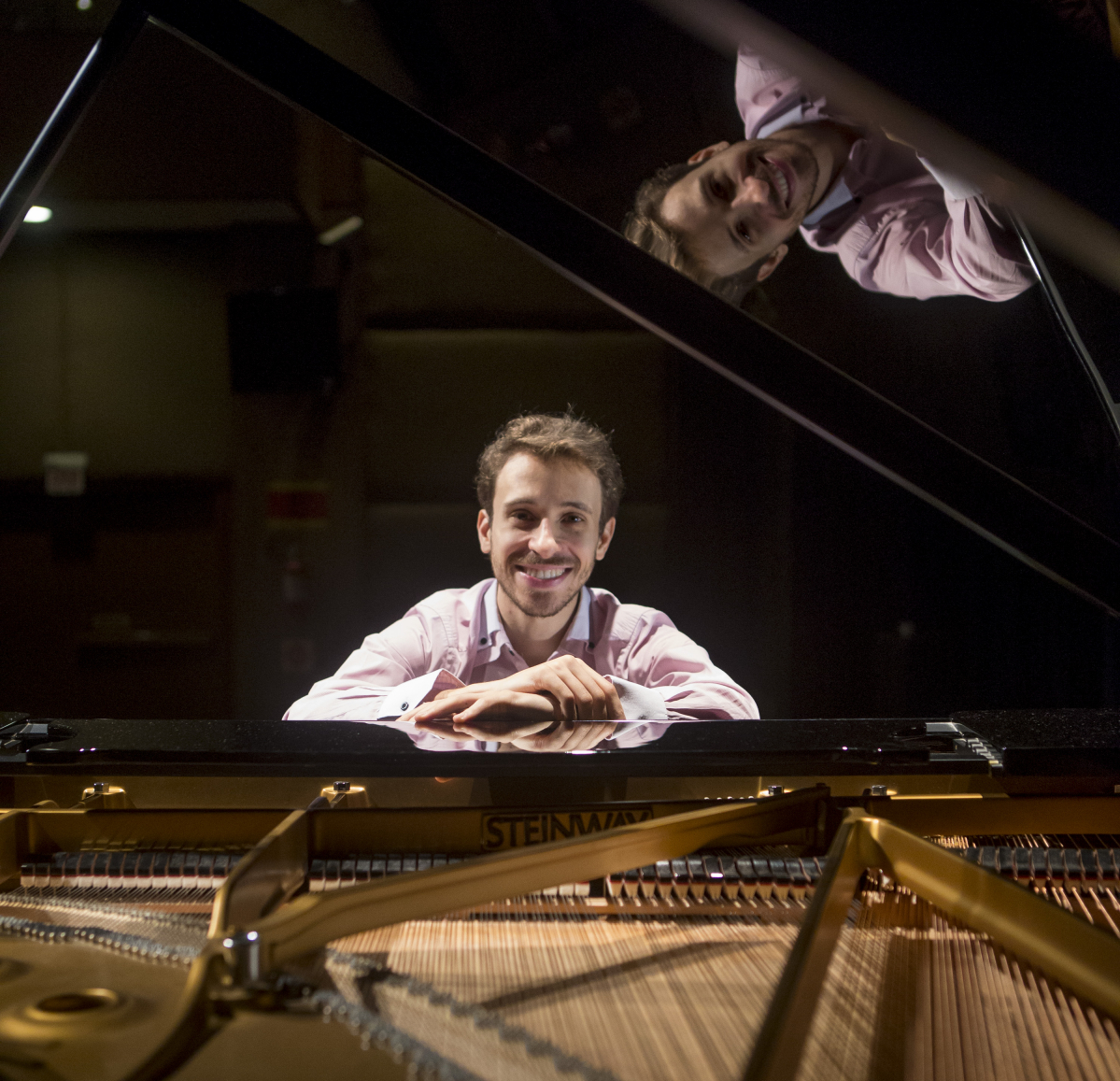 Pablo Rossi nasceu em São José, em 1989, e estudou no Conservatório Tchaikovsky, em Moscou - Flávio Tin/ND