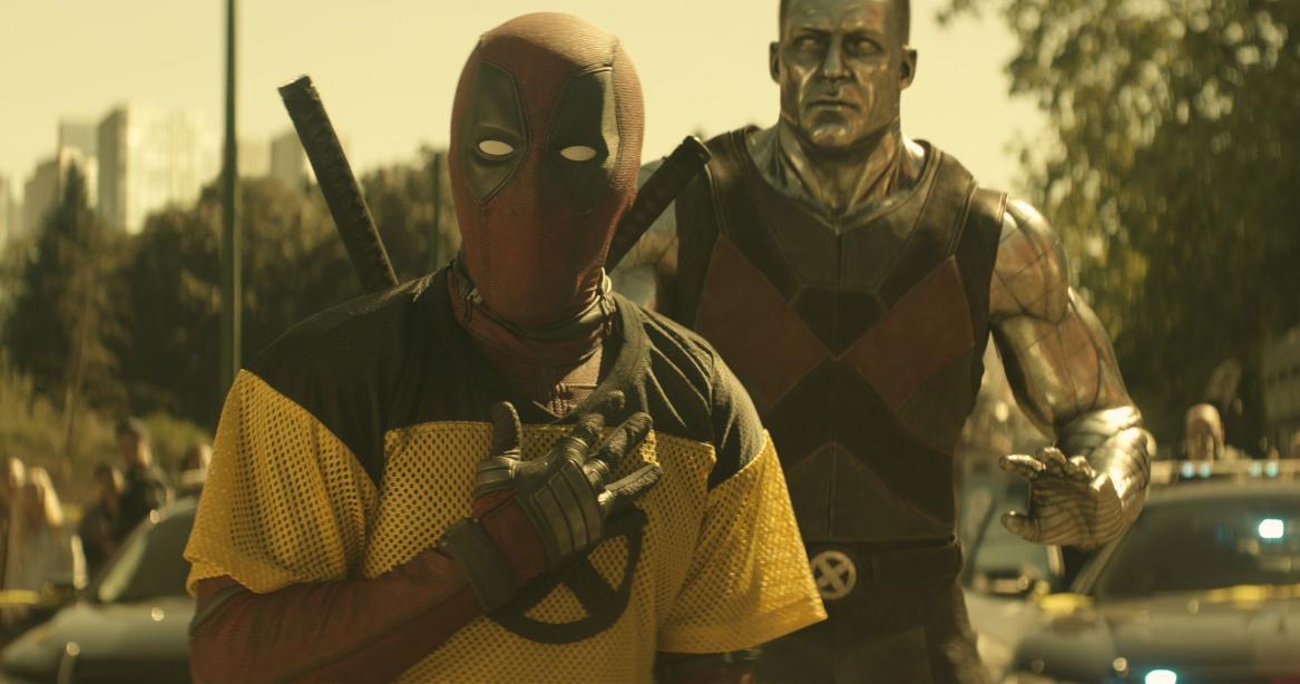 Deadpool e o mutante Colossus em cena do novo filme - Divulgação/ND