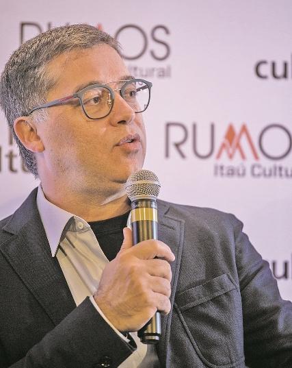 Eduardo Saron, diretor do Itaú Cultural - Karin Barros/ND