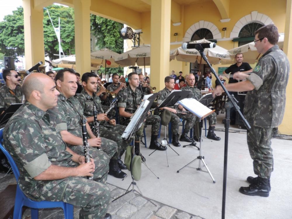 Banda do Exército - Carolina Carvalho/PMF/Divulgação/ND