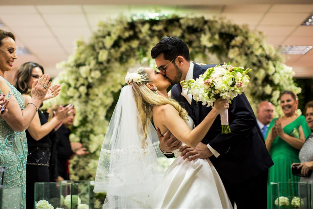 Andressa Vargas Martins da Silva e Eduardo Sabino - MILENA REINERT/DIVULGAÇÃO/ND