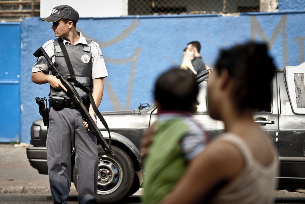 Polícia Militar em São Paulo - Marcelo Camargo/Agência Brasil/Divulgação/ND