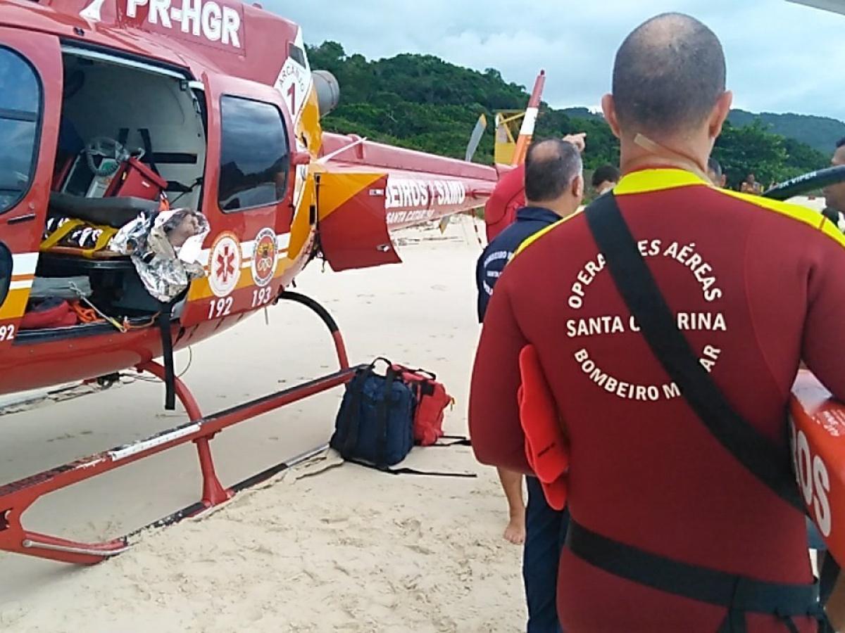 Uma das vítimas já foi encontrada e encaminhada para o hospital universitário, mas a outra continua desaparecida - Equipe Arcanjo/Divulgação/ND