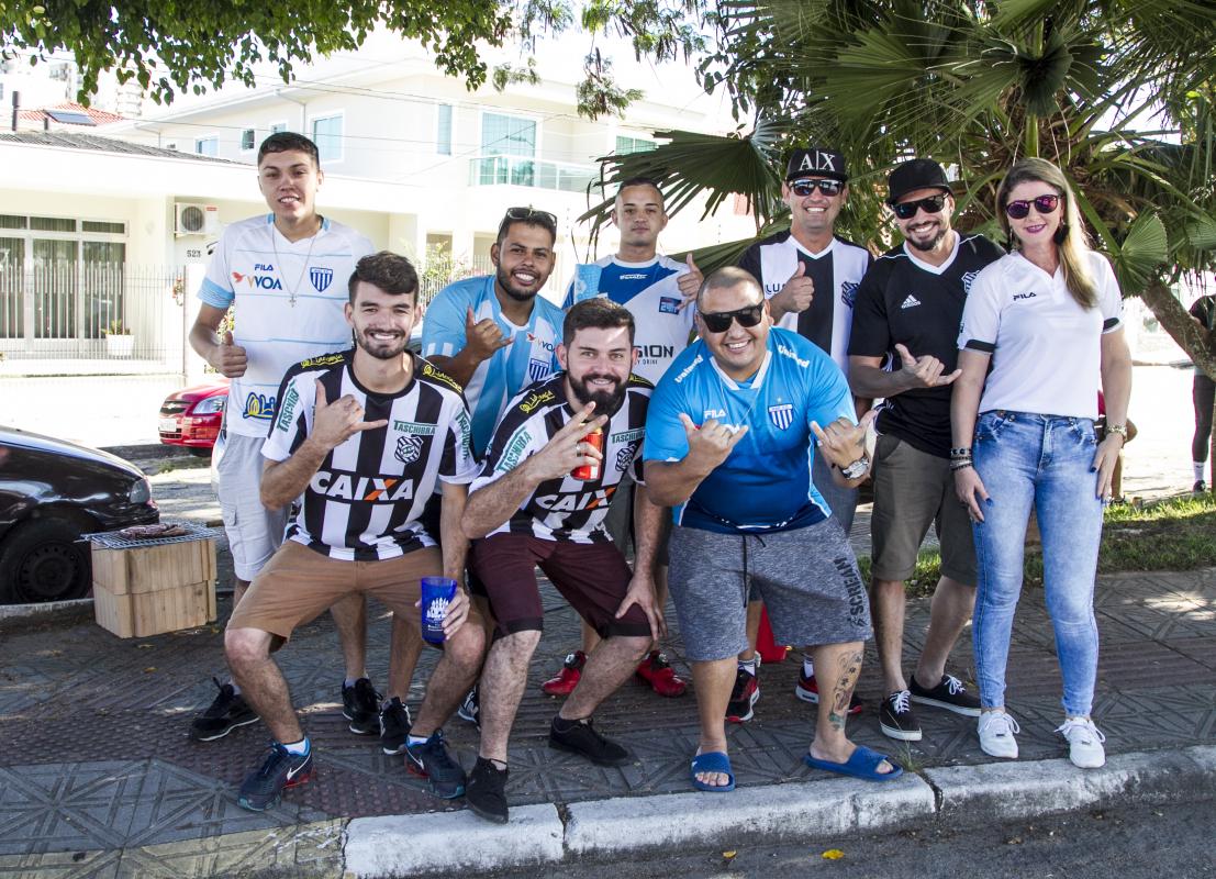 Clássico entre Figueirense e Avaí, válido pela Série B - Marco Santiago/ND