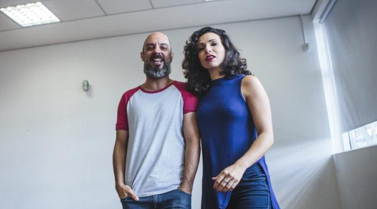 """La Vaca Produtora de Arte, com """"Homens pink"""", foi uma das escolhidas - Daniel Queiroz/ND"""