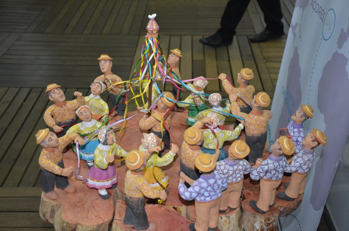 Exposição inclui 75 peças de cerâmica figurativas - PMF/Divulgação/ND