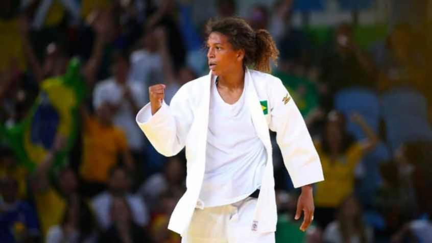 Rafaela Silva foi pega no doping (Foto: Divulgação) – Foto: Divulgação/ND