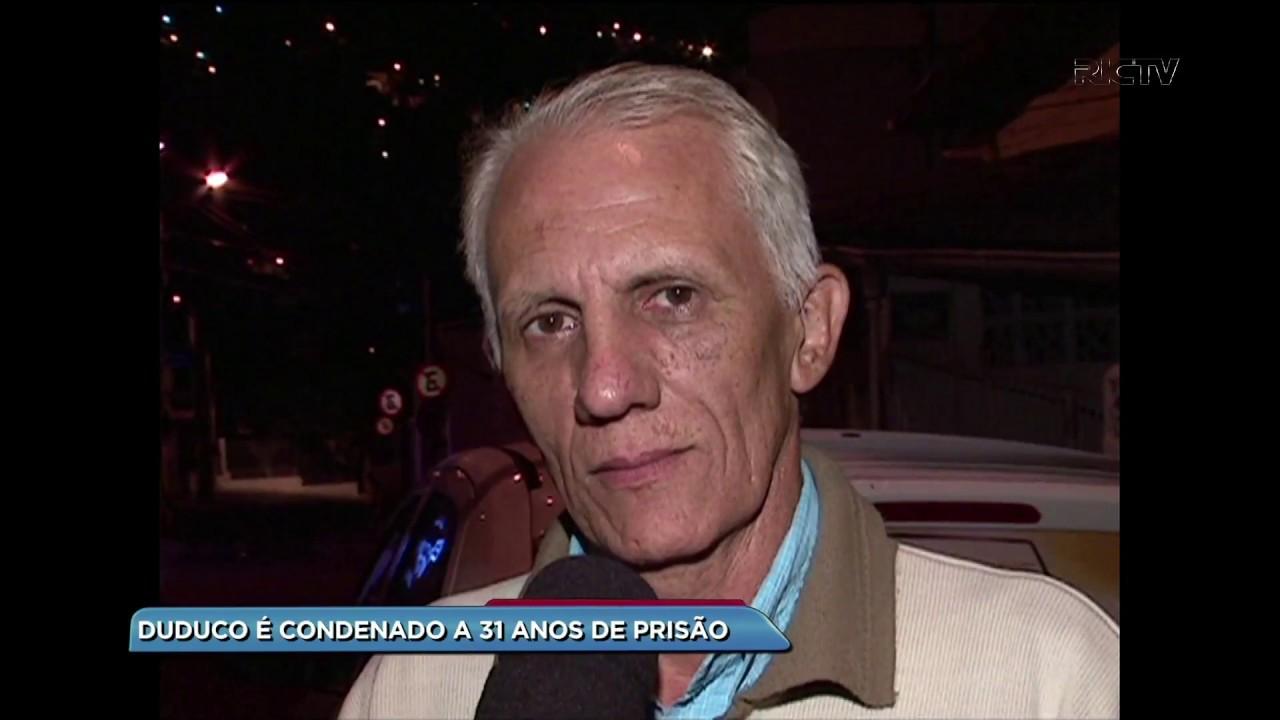 Ex-Deputado Duduco foi condenado a 31 anos de prisão – Foto: Reprodução/RICTV Record TV