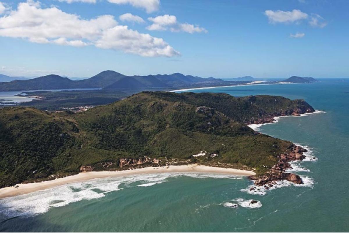 Praia da Galheta, um dos pontos de frequência dos naturistas – Foto: Danísio Silva/Divulgação/ND