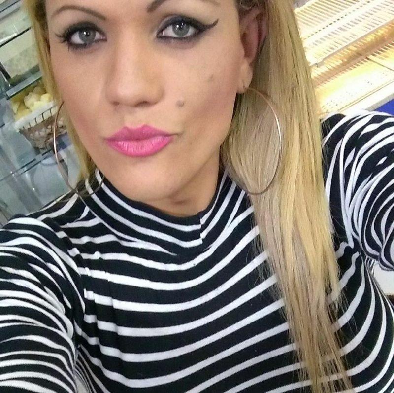 A transexual Kamylla Roberta, 29 anos, morava há poucos meses em Florianópolis – Foto: Facebook/Divulgação