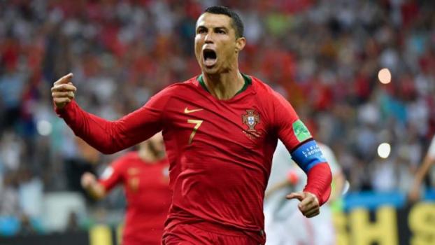 Portugal x Espanha - (Foto: NELSON ALMEIDA / AFP)