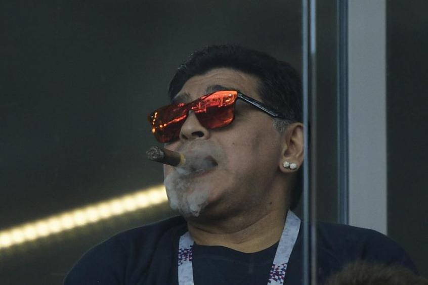 Morte de Maradona deve gerar processo complexo por herança – Foto: Juan Mabromata/AFP