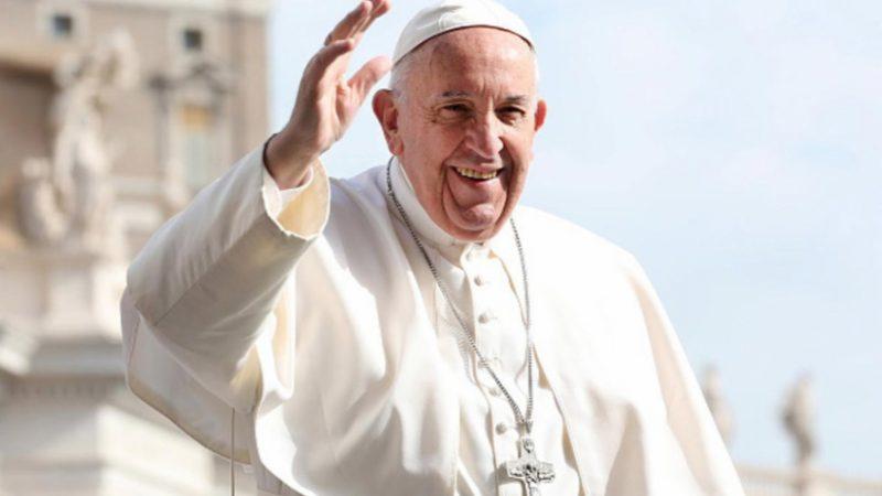 Papa Francisco ficou 25 minutos preso em elevador neste domingo (1º) – Divulgação/ND
