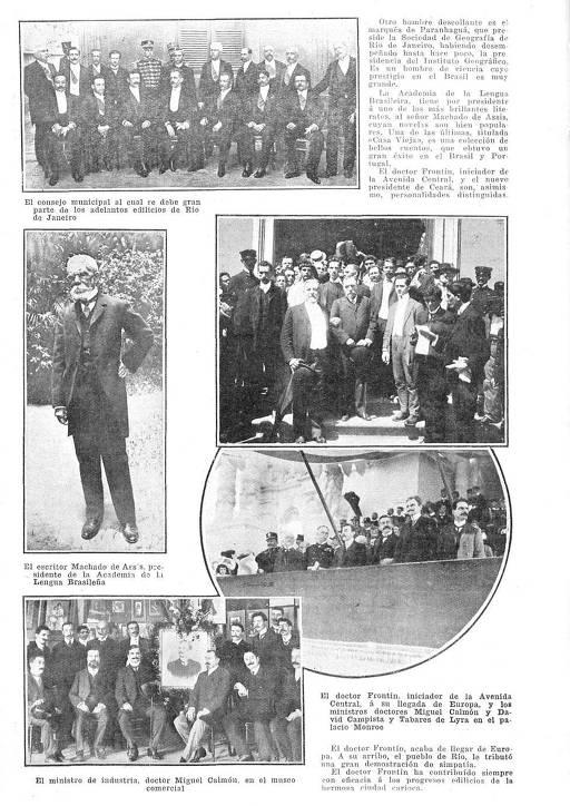 Página da revista argentina