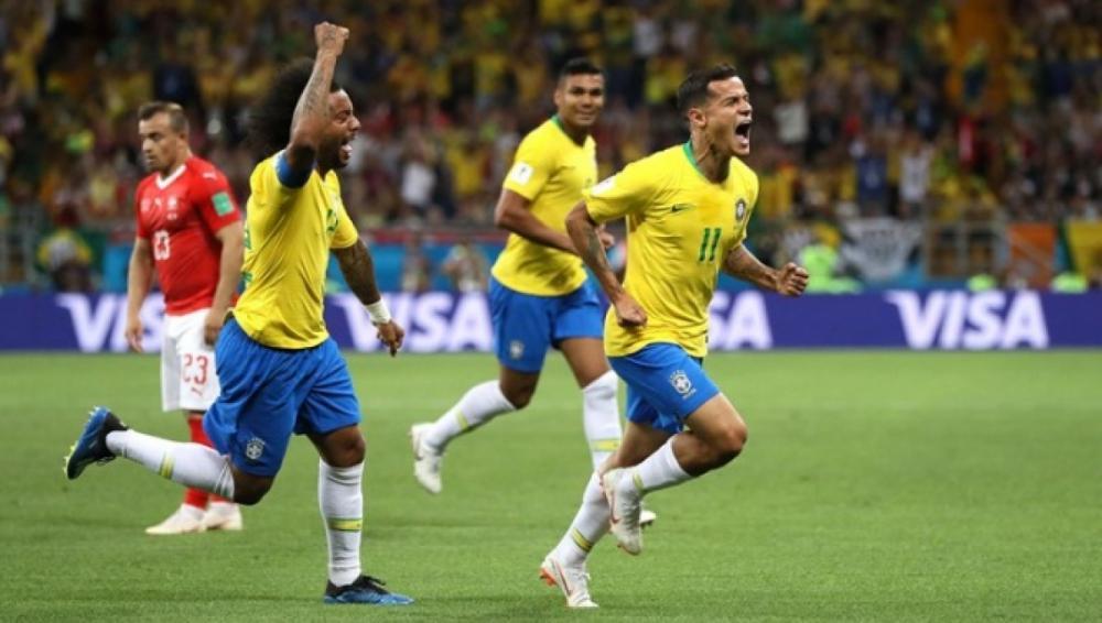 Jogo da Copa do Mundo entre Brasil e Suíça - Fifa/Divulgação
