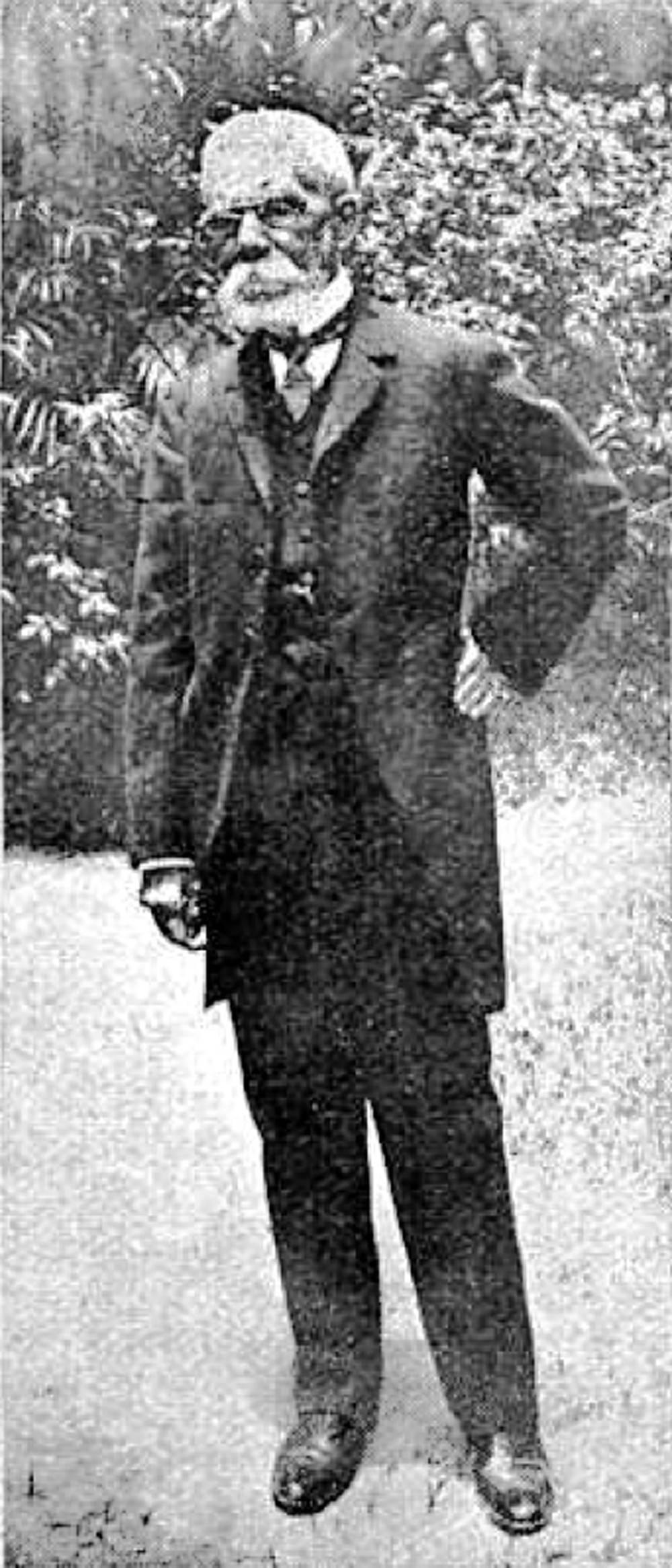 Retrato de Machado de Assis publicado em 1908 - Biblioteca Nacional de España/Divulgação/ND
