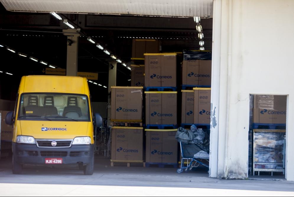 Na sexta-feira, 95,77% do efetivo dos Correios em Santa Catarina trabalhou - Flávio Tin/Arquivo/ND