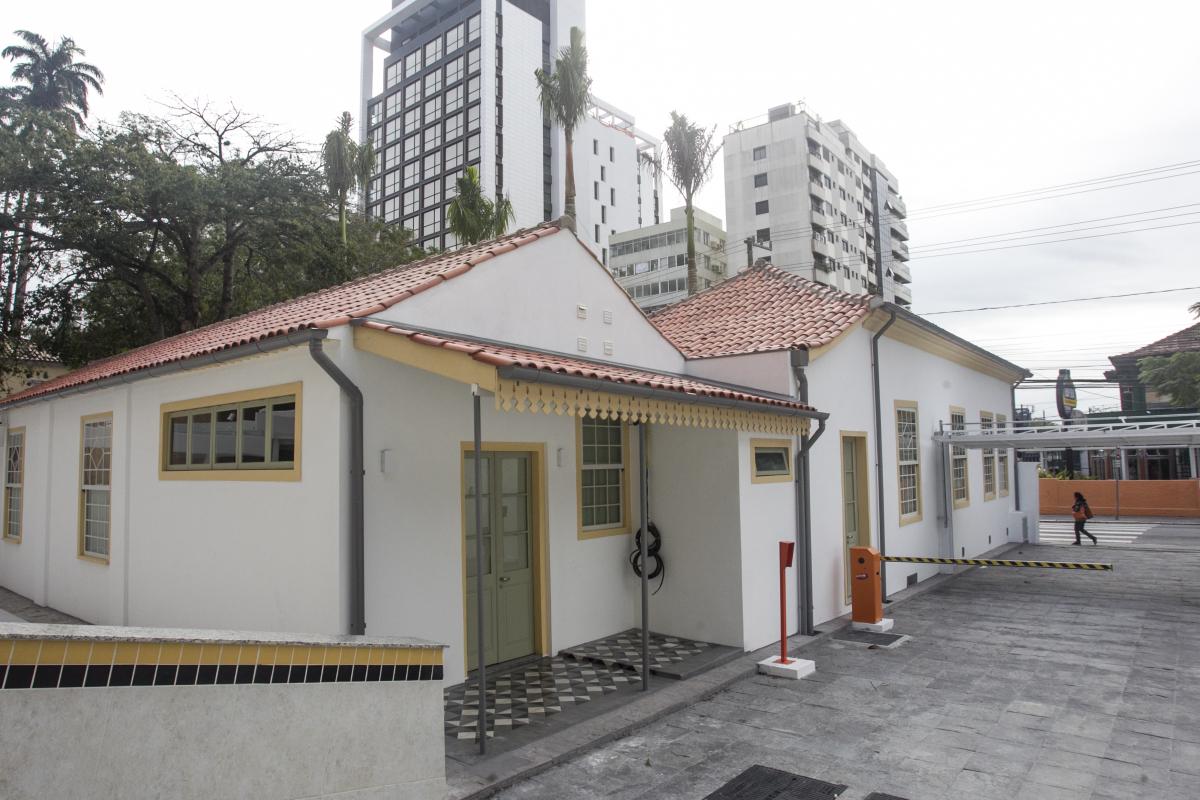 Restauração devolveu as cores originais da casa que tem o primeiro registro em 1859 - Marco Santiago/ND