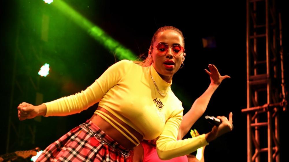 Esta foi a sexta apresentação de Anitta na Grande Florianópolis - Gustavo Bruning/ND