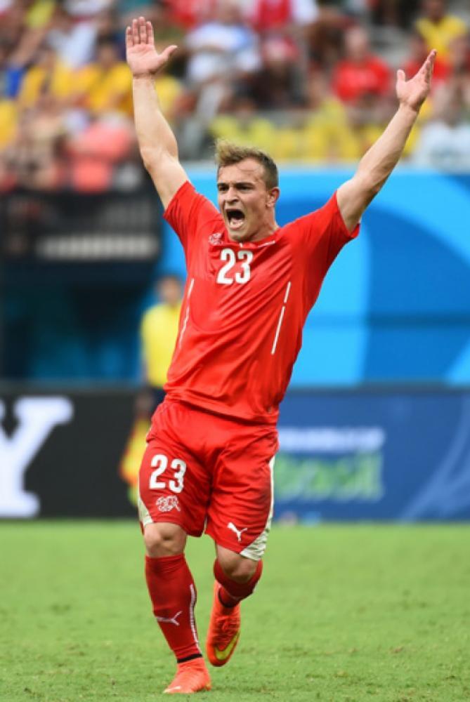 Shaqiri vai defender a Suíça na Copa do Mundo (Foto: Anne Christine Poujoulat/AFP) -