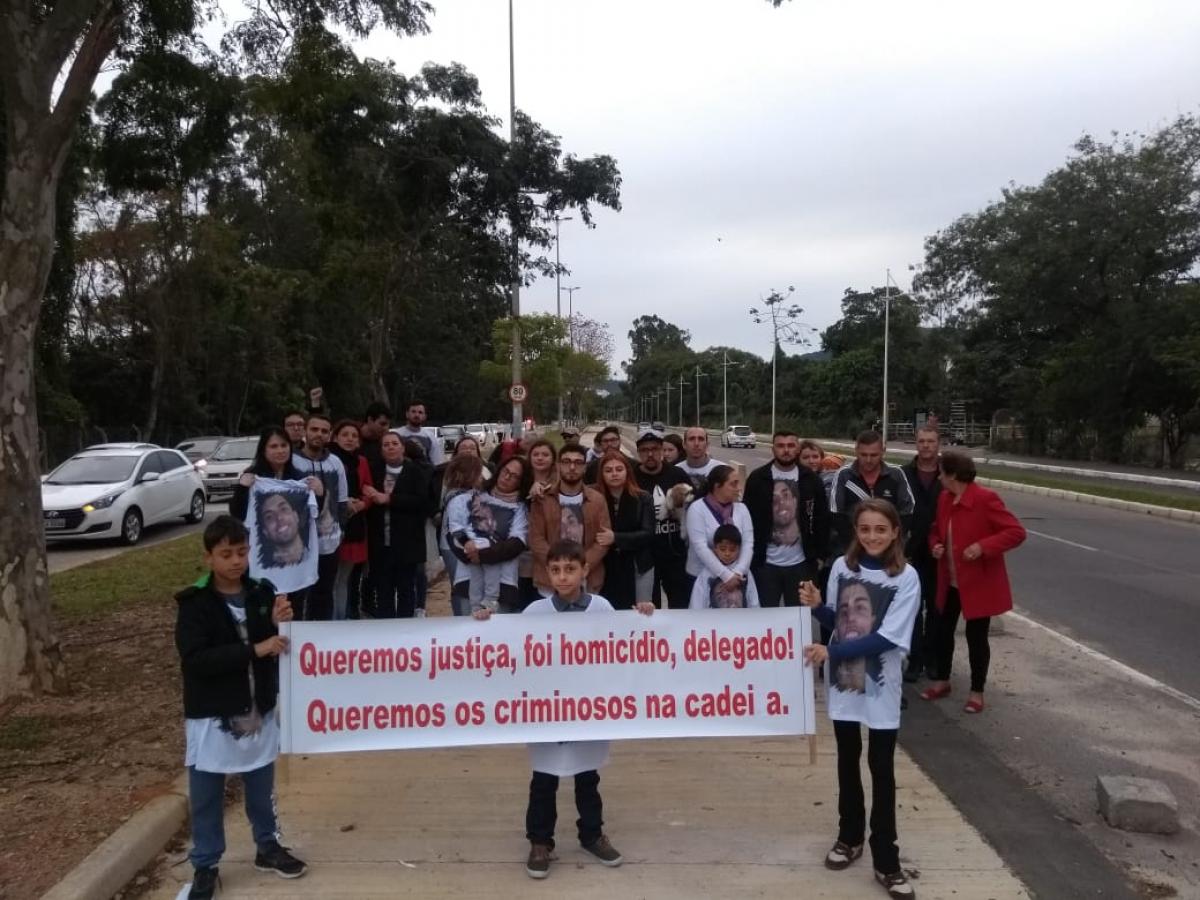 Família e amigos de Nelson Alexandre da Silva pedem mudança no inquérito - José Carlos da Silva/Divulgação/ND