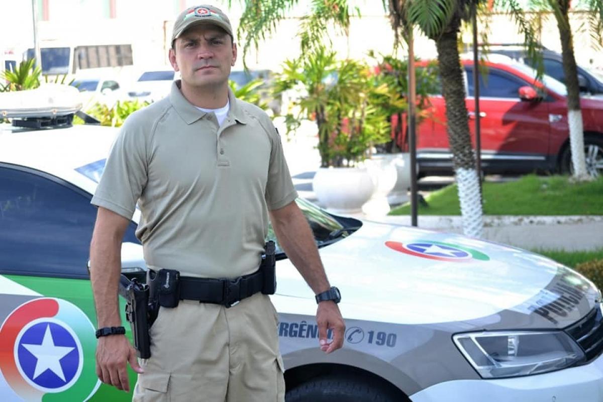 Vestuário enviado por empresa norte-americana foi testado por policiais do batalhão de Balneário Camboriú - PMSC/Divulgação/ND