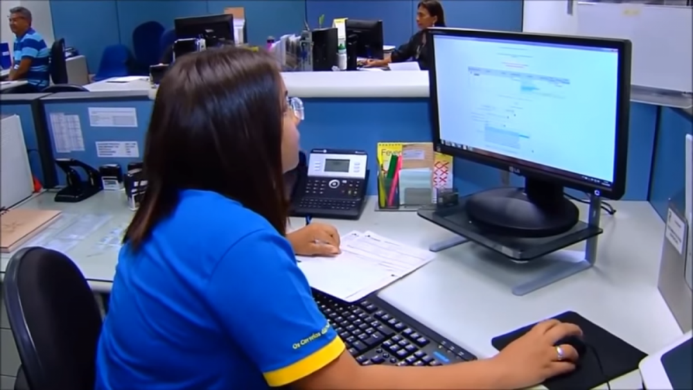 Correios - Jovem Aprendiz - TV NBR/Correios/Divulgação/ND