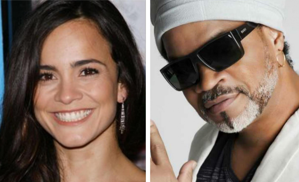 Alice Braga e Carlinhos Brown foram convidados pela Academia do Oscar - Divulgação/ND