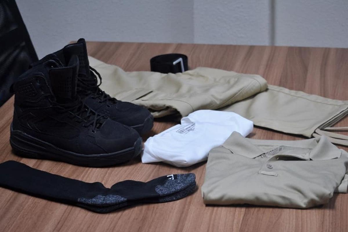 Roupas e botas da 5.11 Tactical - PMSC/Divulgação/ND