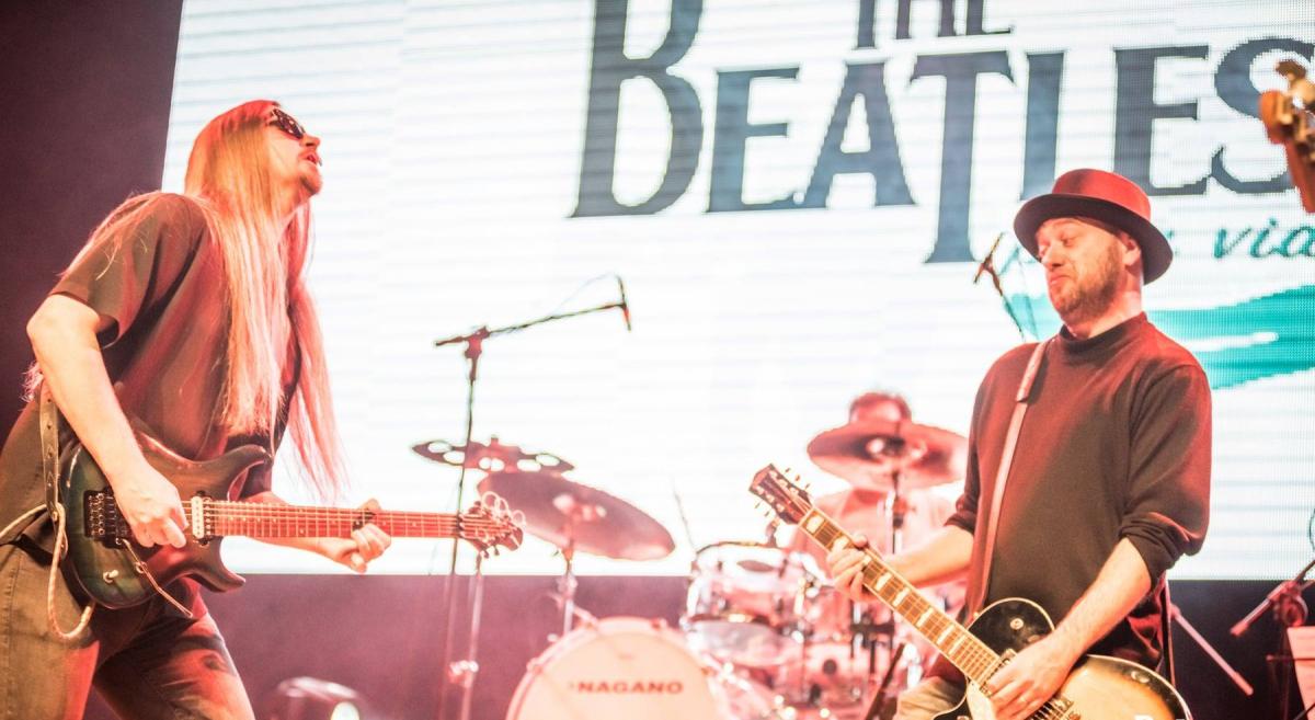 Serão três dias de shows na semana que vem, cada um com repertórios diferentes dos Beatles - Stivy Malty/Divulgação/ND