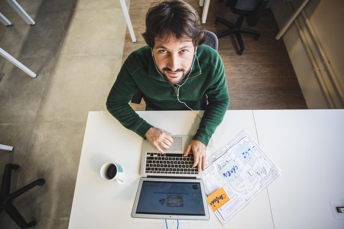 A ferramenta é útil para empresas e empresários que queiram apresentar sua trajetória - Daniel Queiroz/ND