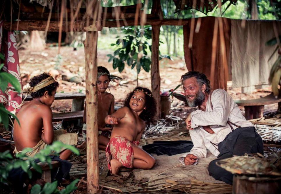 """""""Gauguin - Viajem ao Taiti"""" se passa no ano de 1891, quando Gauguin se exila no Taiti - Divulgação/ND"""