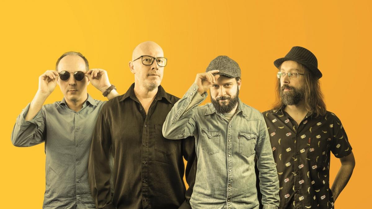 Banda faz mescla de gêneros, incluindo o rock, o pop e o samba - Quinho Mibach/Divulgação/ND