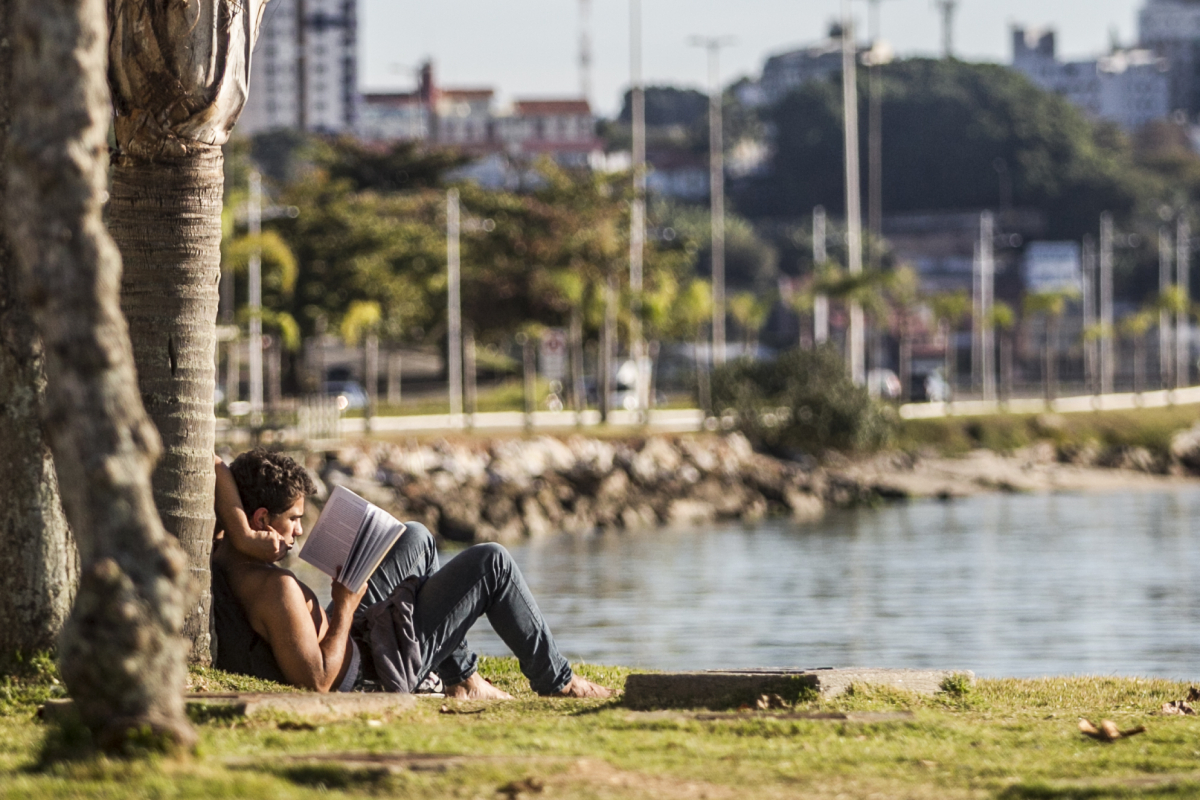 Último dia do outono foi de calor e favorável à prática de atividades ao ar livre em Florianópolis - Marco Santiago/ND