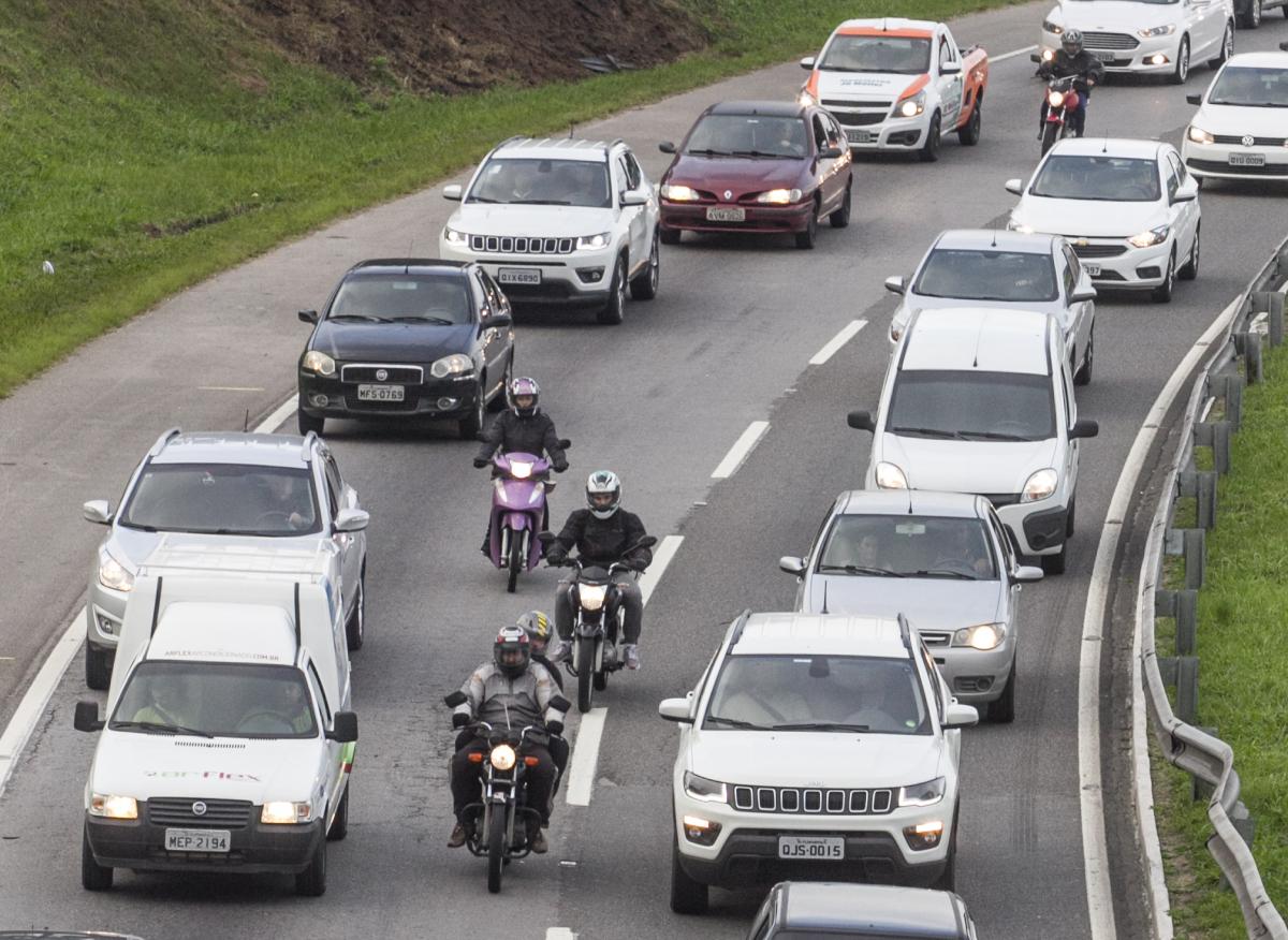Preocupação maior do governo do Estado é com a condução de motos - Marco Santiago/ND