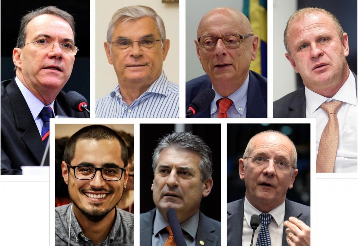 Primeira pesquisa eleitoral do ano com intenções de voto para governador de Santa Catarina foi divulgada pelo Grupo RIC SC nesta quinta-feira - Divulgação/ND