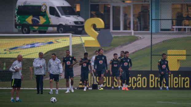 Treino Seleção Brasileira - Pedro Martins / MoWA Press