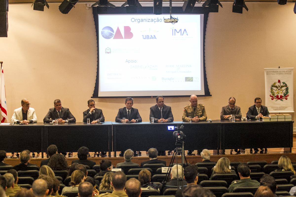 2ª Conferência Estadual sobre Licenciamento Ambiental e Segurança Jurídica começou na noite desta terça-feira - Marco Santiago/ND