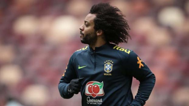 Marcelo começa a Copa como capitão do Brasil  -  (Foto: Pedro Martins / MoWA Press)