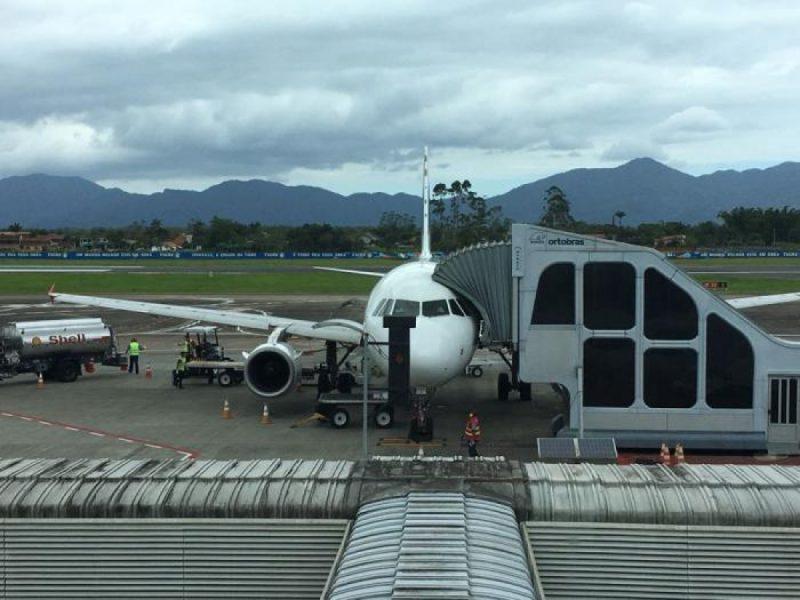 Aeroporto de Joinville ganha novos voos da Gol – Foto: Infraero/Divulgação