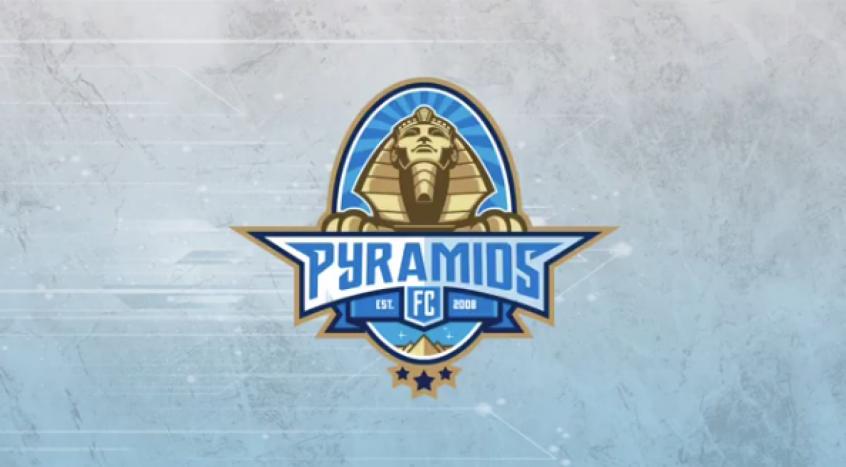 Símbolo do clube que ganhou um novo nome em 2018 no Egito (Foto: Reprodução/Instagram/Pyramids FC)