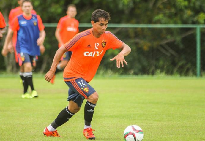 Revelado no Sport, Everton Felipe já defendeu a Seleção Brasileira sub-20 (Foto: Williams Aguiar/Site oficial do Sport)