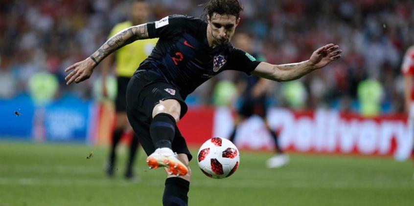 Lateral foi destaque da Croácia na Copa (Foto: Adrian Dennis / AFP)