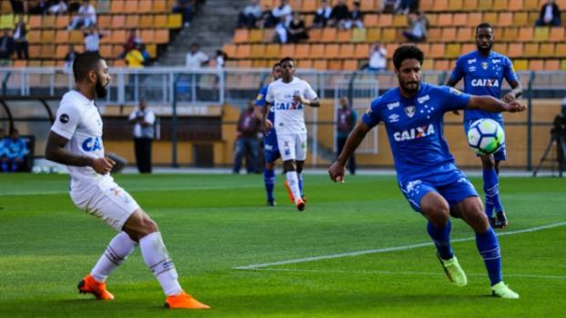 Último jogo: Santos 0 x 1 Cruzeiro, no Pacaembu, pelo Campeonato Brasileiro (27/05/2018) - Marcello Fim/Ofotografico